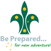 Scouts Logo Be Prepared for new adventure